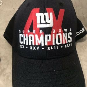 NY Giants 4X Super Bowl Champions Baseball Cap